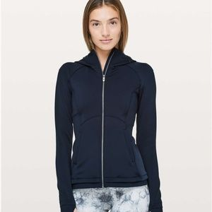 EUC Lululemon Stopover Jacket (True Navy)